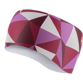 Castelli Triangolo Hoofdband Dames, multicolor pink